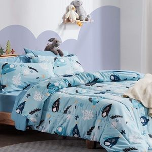 Comforter and Sheet Sets w/Shams 7 Pcs Full/Queen